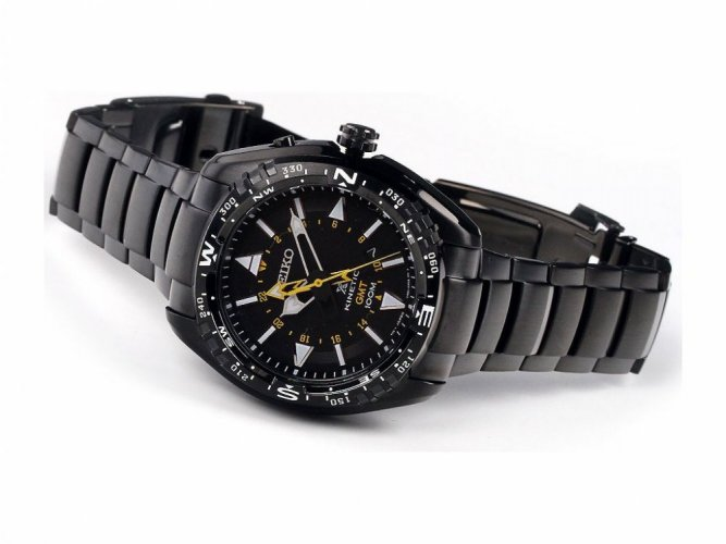 Seiko Kinetic-KOPIE - Color: Black